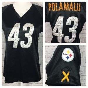 NFL Team Apparel   Women's Steelers Jersey